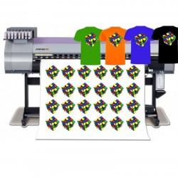 Vinilo textil impreso y...