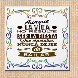 """copy of Azulejo frase """"todo..."""